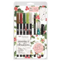 Tombow Watercoloring Set Christmas by May & Berry
