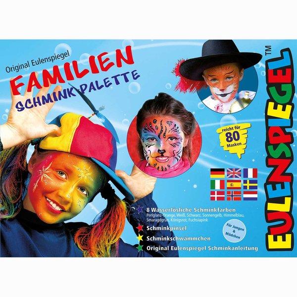 Eulenspiegel Familien Schminkpalette
