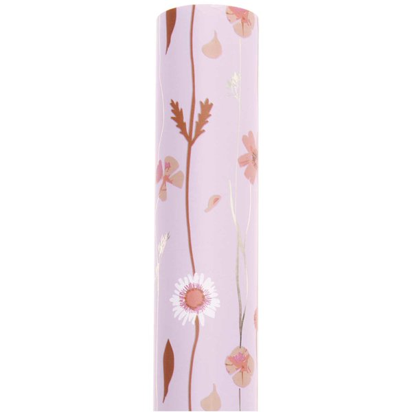 Paper Poetry Geschenkpapier Blumenranken flieder 70cm 2m 80g/m²
