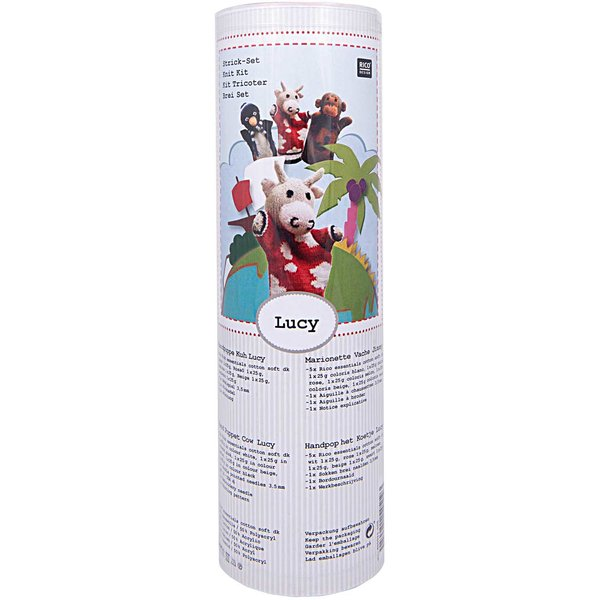Rico Design Strickset Handpuppe Kuh Lucy