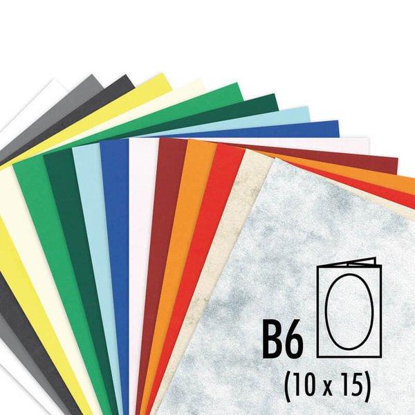 Artoz Passepartout-Karte S-Line B6 200g/m² 5 Stück oval