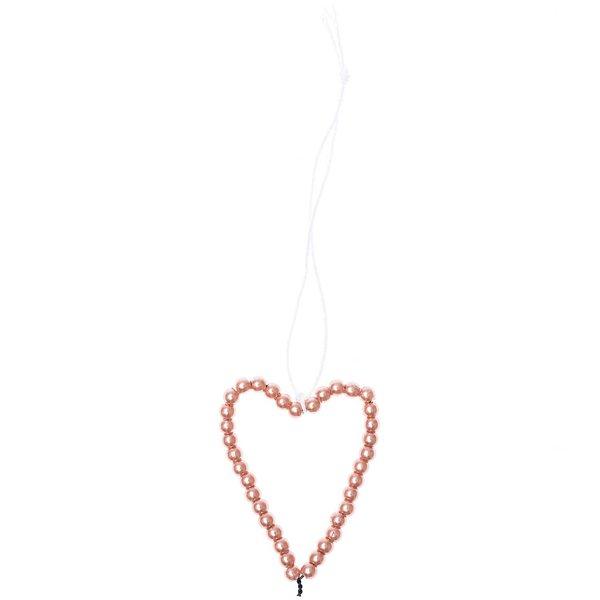 Ohhh! Lovely! Perlenhänger Herz M rosegold