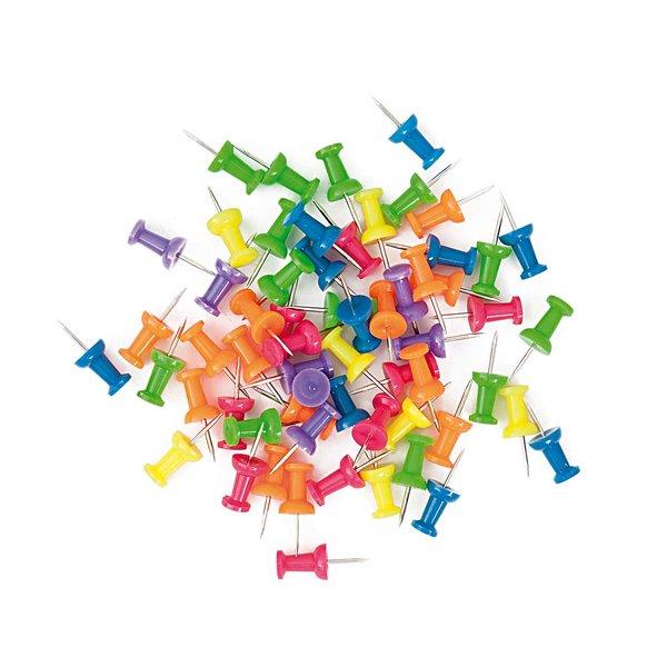 Paper Poetry Pinnwandnadeln mehrfarbig 60 Stück