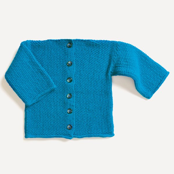 Strickset Jacke Modell 06 aus Baby Nr. 31