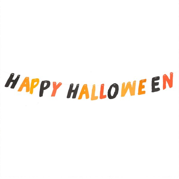 Paper Poetry Girlande Happy Halloween 3m