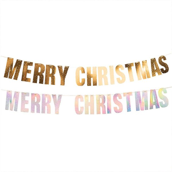 Paper Poetry Girlande Merry Christmas 3m Hot Foil