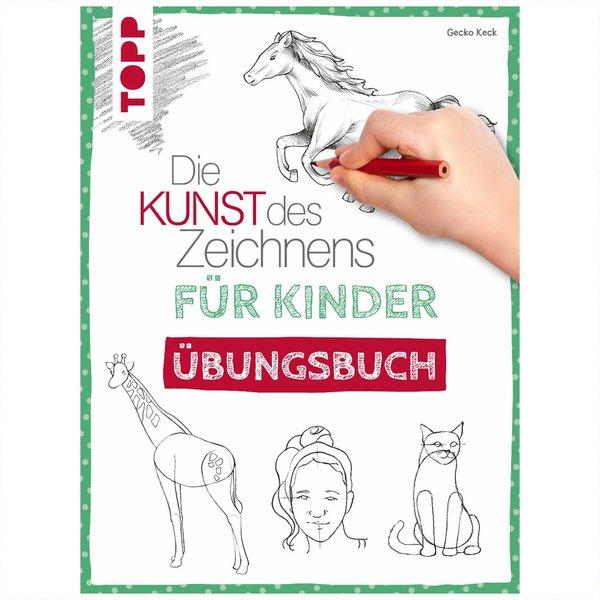 TOPP Kunst des Zeichnens für Kinder Übungsbuch