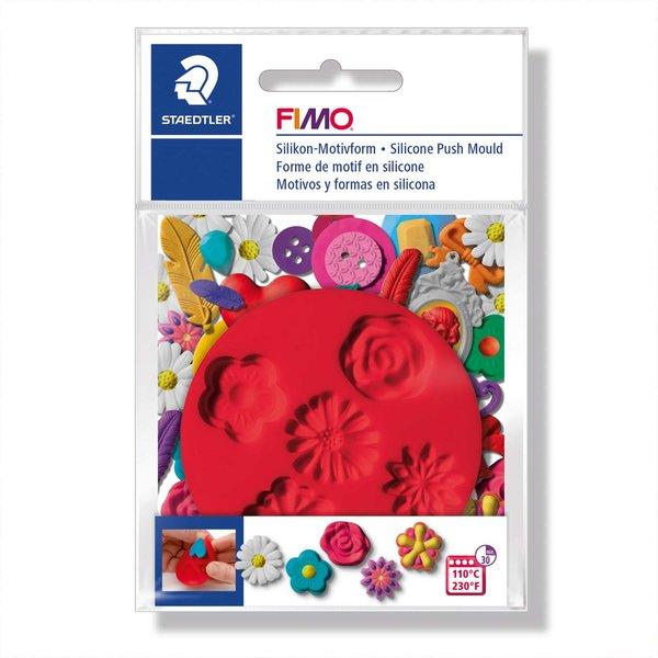 FIMO Motivform Silikon Blumen