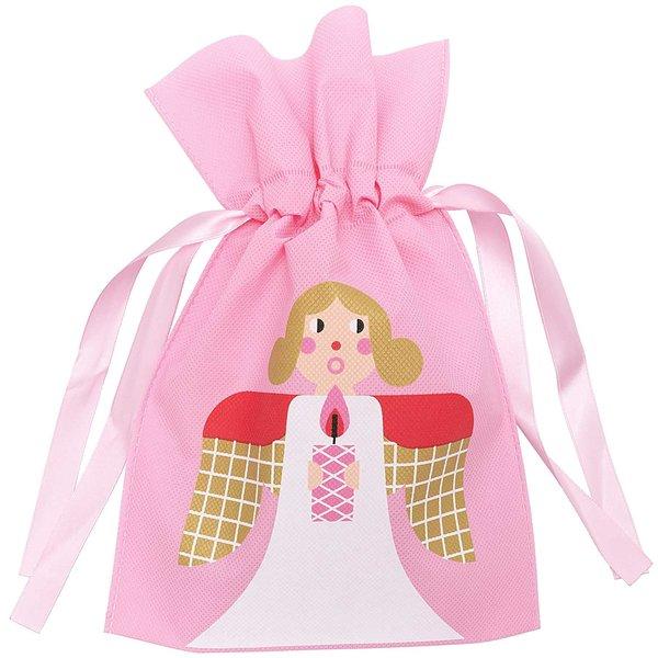 Paper Poetry Geschenktüte Engel klein rosa 20x30cm