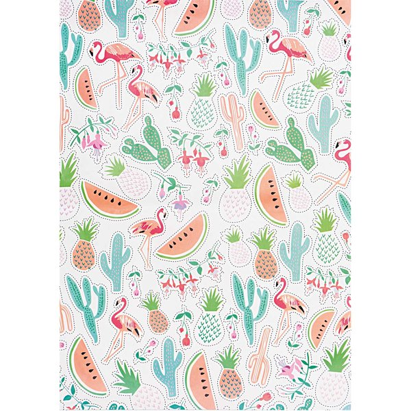 Rico Design Paper Patch Papier Tropical Spring 30x42cm