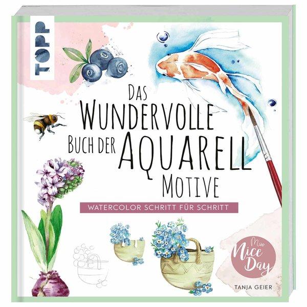 TOPP Das wundervolle Buch der Aquarell-Motive
