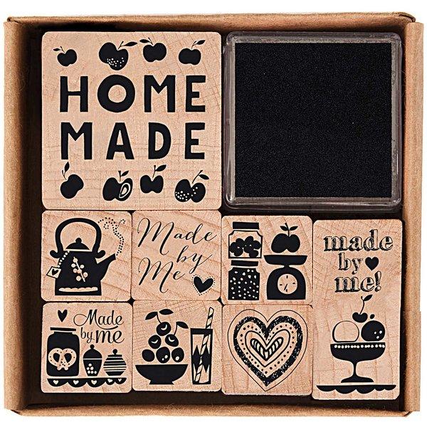 Paper Poetry Stempelset Homemade 8 Stück