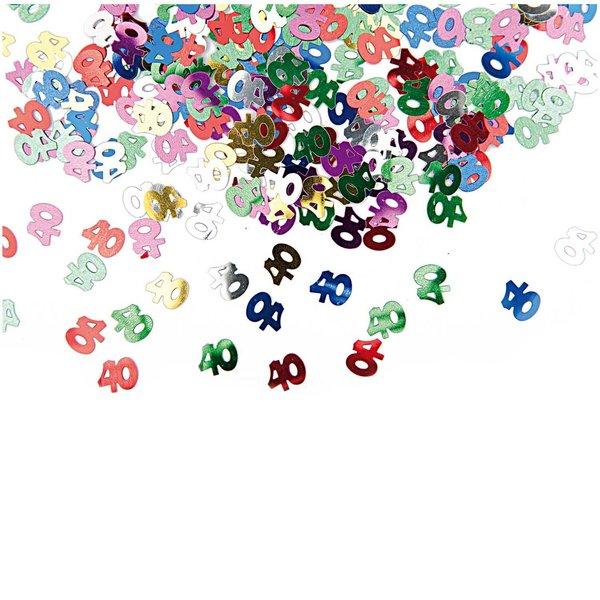 Rico Design Flitter Streu 40 mehrfarbig 10g