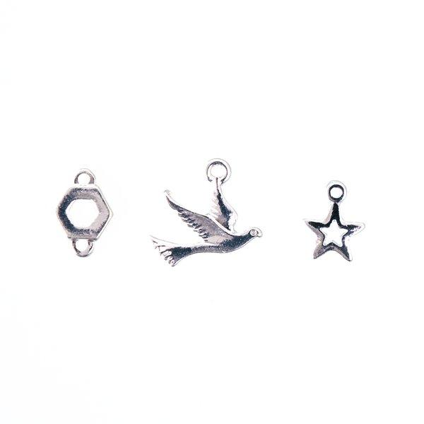 Jewellery Made by Me Anhänger Mix8 3 Stück