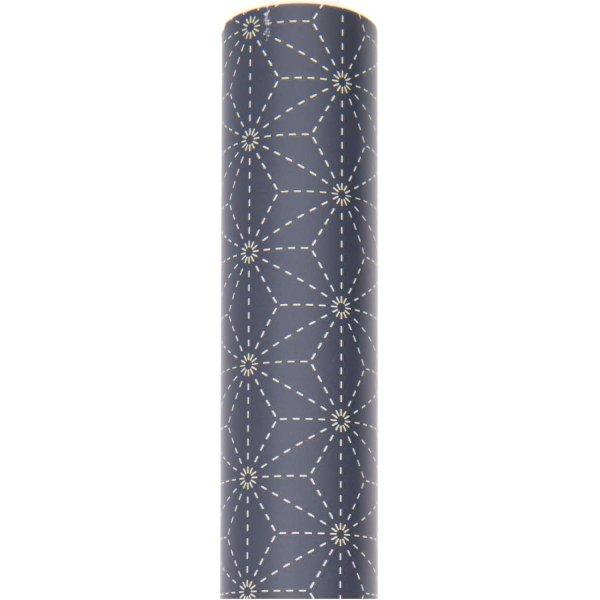 Paper Poetry Geschenkpapier Jardin Japonais Muster blau 70cm 2m