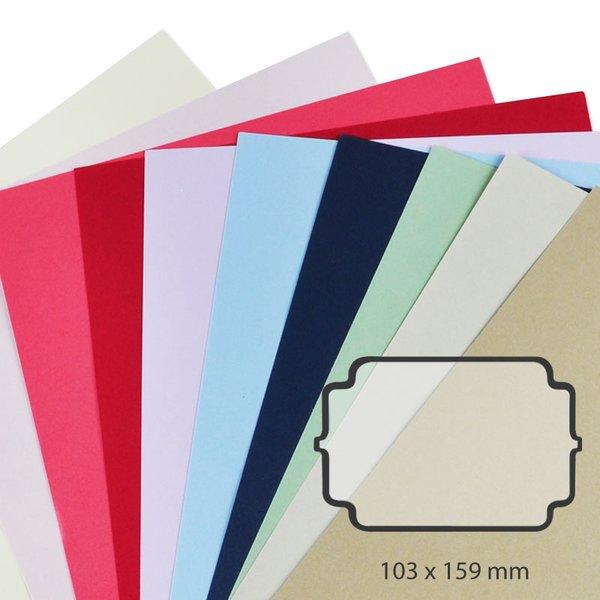 Rico Design Karte Essentials Ornament 5 Stück