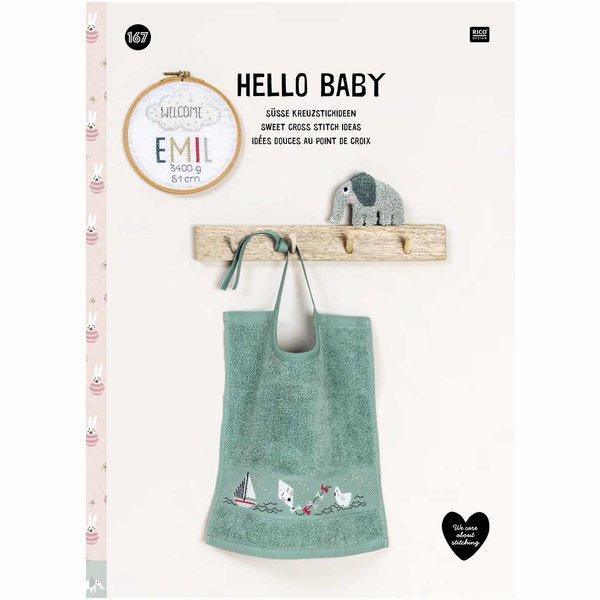 Rico Design Stickbuch Hello Baby Nr. 167
