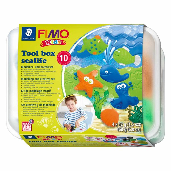 FIMO Kids Spielbox Sealife 10teilig