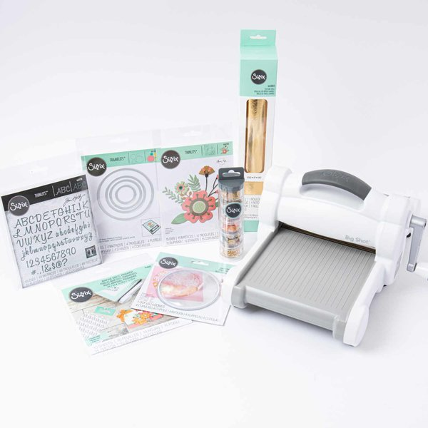Sizzix Creative Floral Big Shot Maschine A5 Set