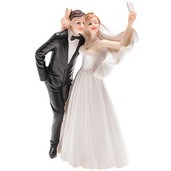Brautpaar Selfie 17cm