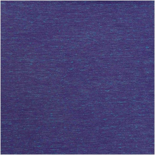 Rico Design Stoffabschnitt Jersey violett-türkis 80x100cm