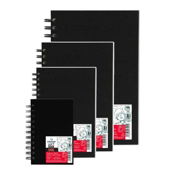 Canson Art Book One Spiralblock 80 Blatt
