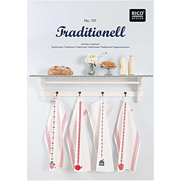Rico Design Stickbuch Traditionell Nr.131