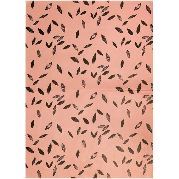 Rico Design Paper Patch Papier Blätter koralle 30x42cm
