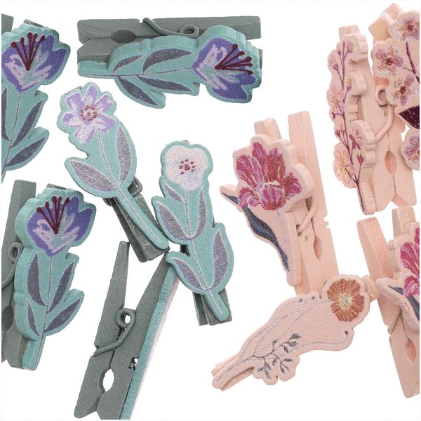 Ohhh! Lovely! Dekoklammern Blume 8 Stück
