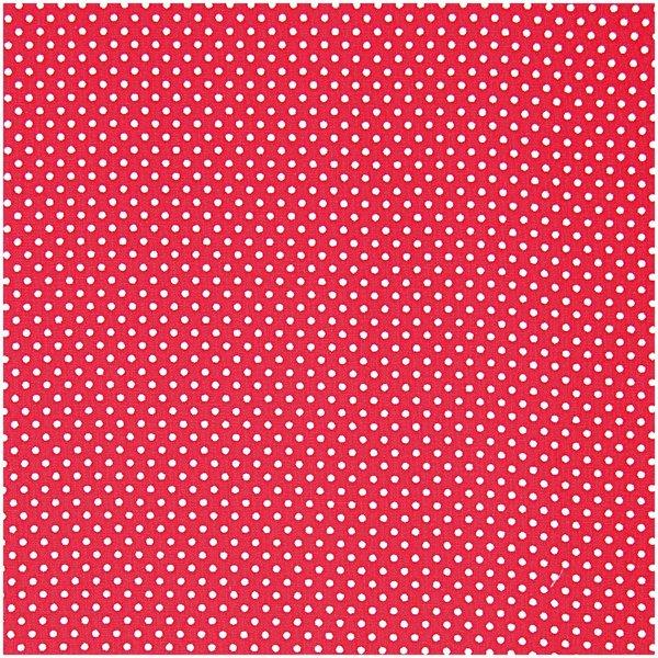Rico Design Stoff rot-weiß kariert 21x30cm selbstklebend