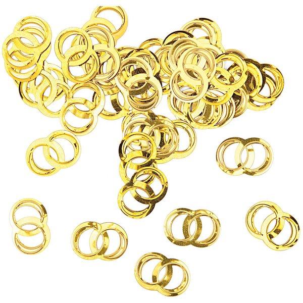 Rico Design Streu Eheringe gold 9g
