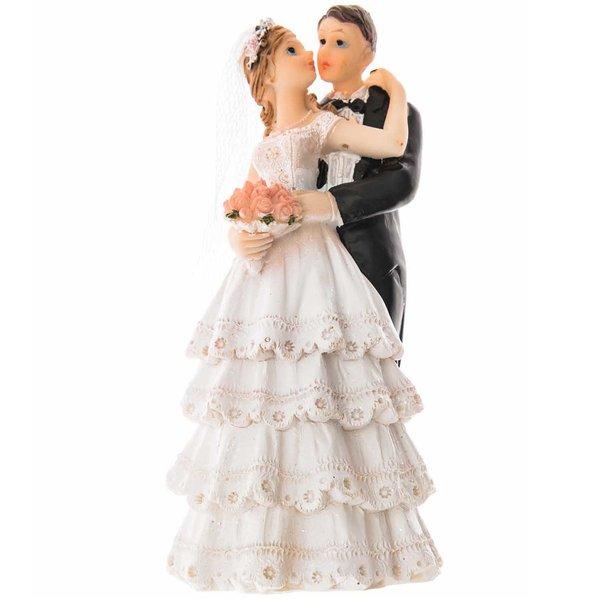 Brautpaar küssend 12,8cm