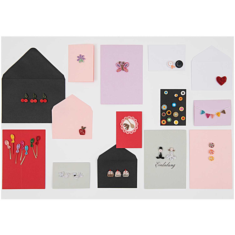 B6//B6 Basic Kartenset Kraftpapier