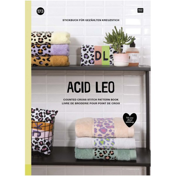Rico Design Stickbuch Acid Leo Nr. 173