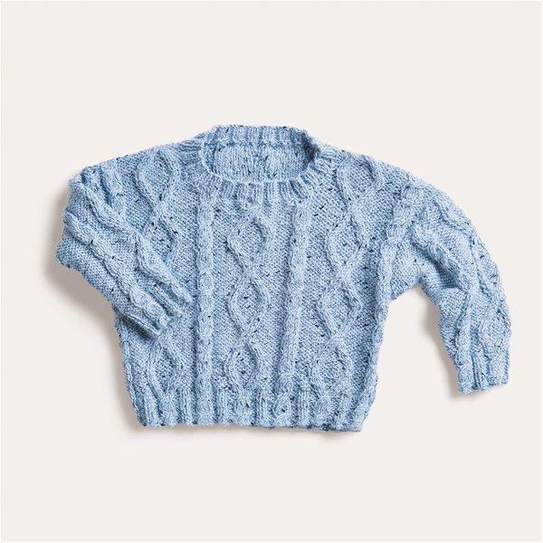 Strickset Pullover Modell 07 aus Baby Nr. 32