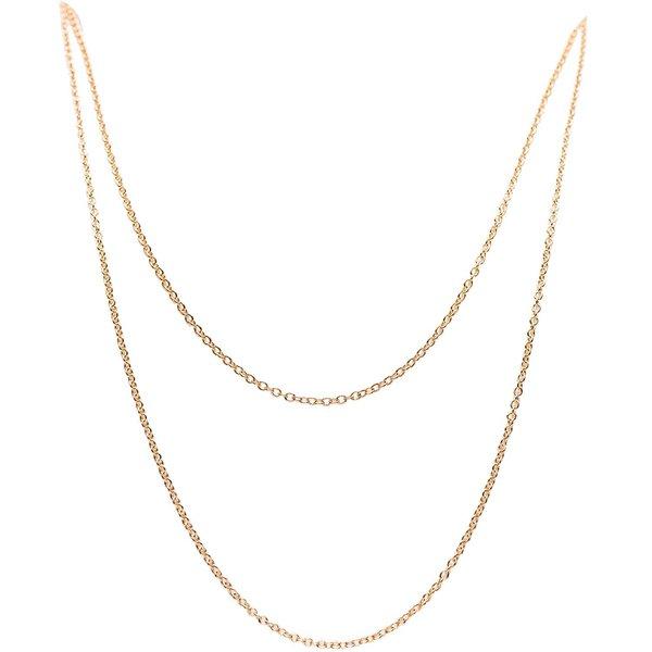 Jewellery Made by Me Gliederkette 2fach gold 55cm