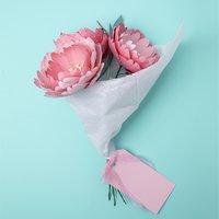 Anleitung Blumenstrauß stanzen mit der Sizzix Big Shot