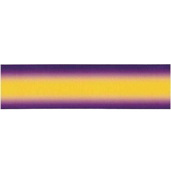 Ohhh! Lovely! Dekoband lila-gelb 4cm 3m