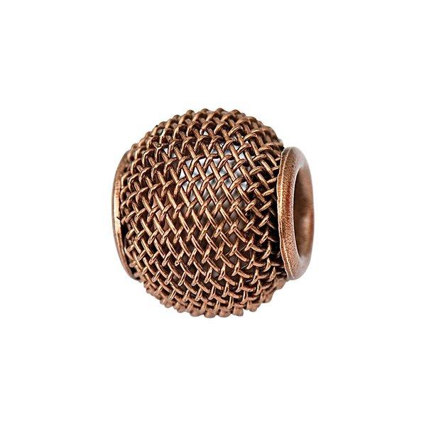 Jewellery Made by Me Metallperle braun 12x10mm 6 Stück