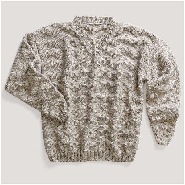 Strickset Pullover Modell 11 aus Made by Me Men Nr. 2