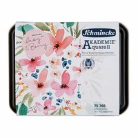 Schmincke Akademie Aquarellkasten 18x Halbe Näpfe designed by May & Berry