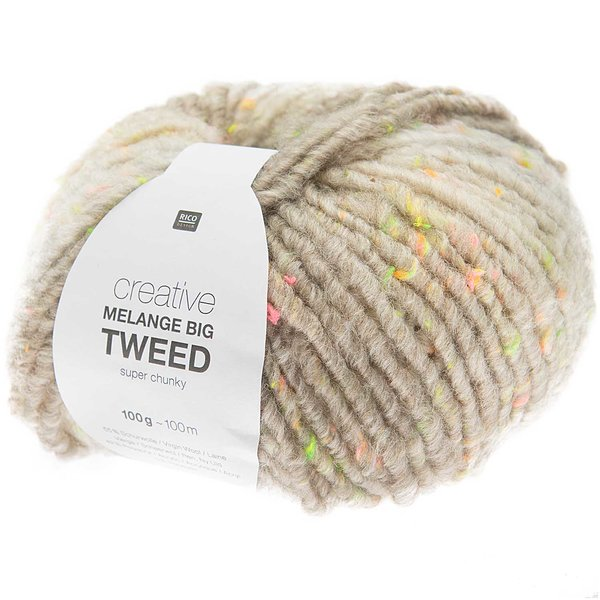 Rico Design Creative Melange Big Tweed Super Chunky 100g 100m
