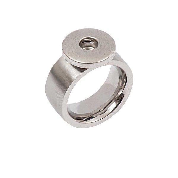 Rico Design Ring bombiert Edelstahl 20mm