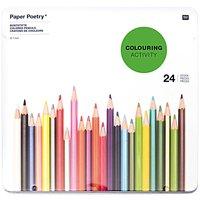 Paper Poetry Buntstifte im Metalletui 24 Stück