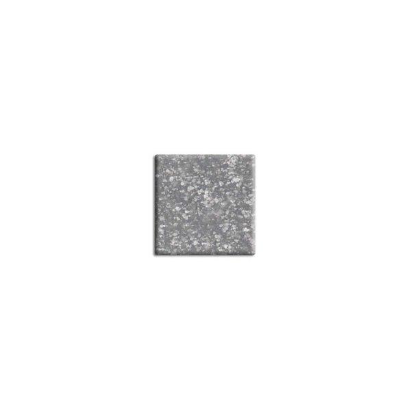 Rico Design Glas-Mosaiksteine grau 10x10mm 200g ca. 72 Stück