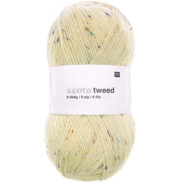 Rico Design Superba Tweed 6-fädig 150g 390m