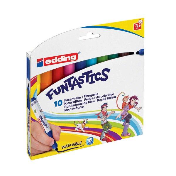 edding Funtastic Filzstifte 10er Set