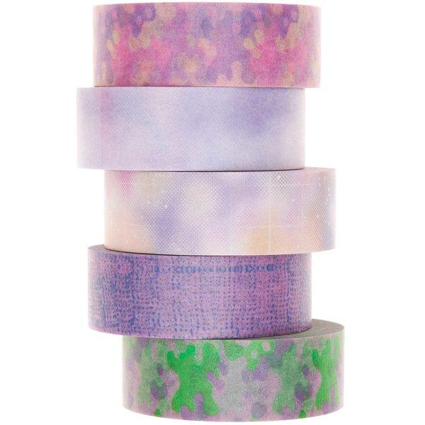 Paper Poetry Tape Set Blurry 5teilig