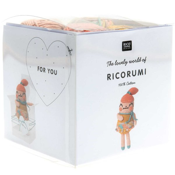 Rico Design Häkelset Ricorumi Crazy Cute Family Mädchen