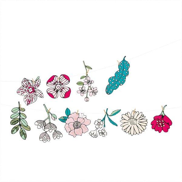 Paper Poetry Girlande Hygge Flowers 3m